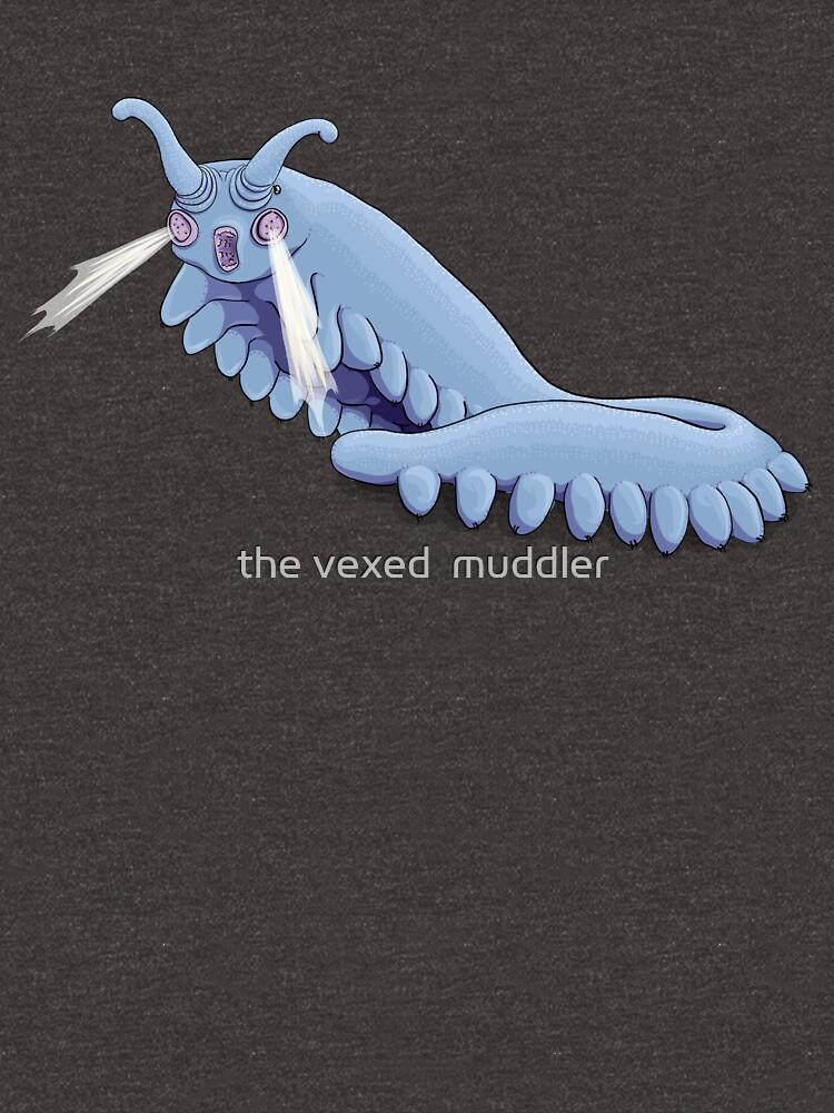 Blue Onychophora velvet worm  by thevexedmuddler