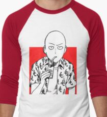 Casual Saitama Men's Baseball ¾ T-Shirt