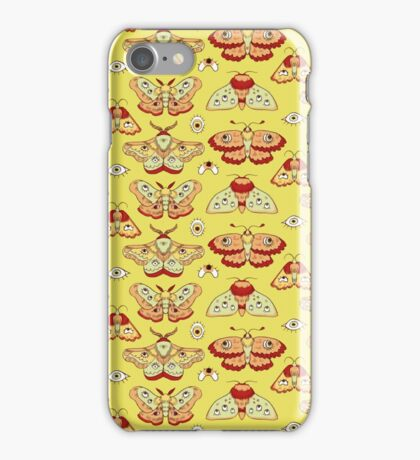 Moth and Eyes iPhone Case/Skin