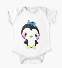 Girl Penguin One Piece - Short Sleeve