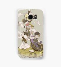 Osomatsu-san Steampunk AU Ichi and Jyushi Samsung Galaxy Case/Skin