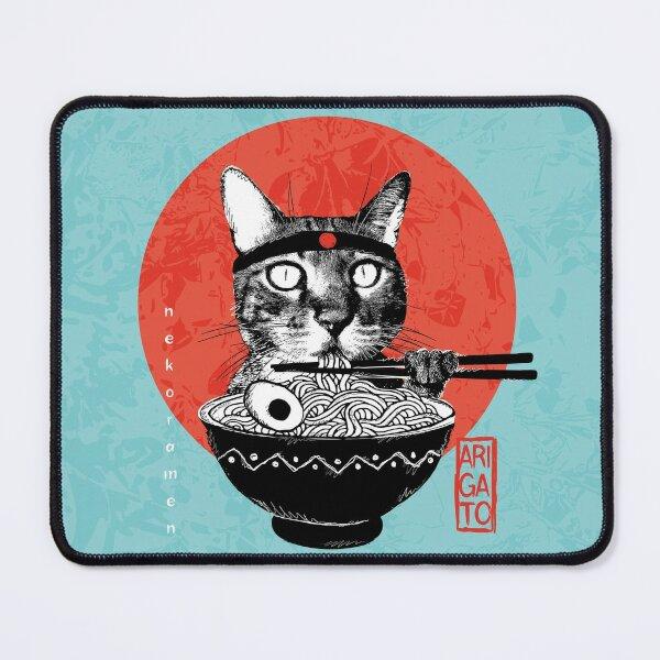 Neko Ramen - Arigato Tapis de souris