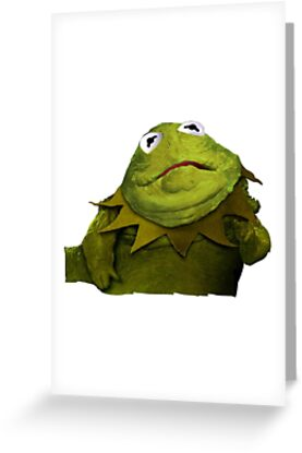 Kermit the hutt greeting cards by jcocozziello redbubble kermit the hutt by jcocozziello m4hsunfo