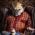 Pudgy the Pug by carpo17