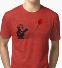 banksy UP Tri-blend T-Shirt
