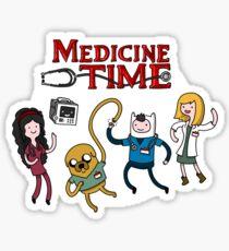 Medicine Time! Sticker