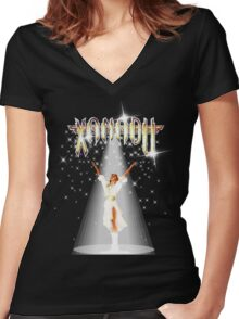 Xanadu - A Million Lights - Olivia Newton-John Women's Fitted V-Neck T-Shirt