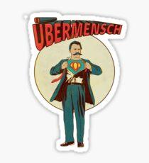 Übermensch / Superman Sticker