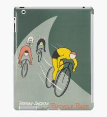 Vintage poster - Bicycle Race iPad Case/Skin