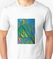 Heart-y Leaf Abstract  T-Shirt