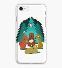 Rudy & the Wolves iPhone Case/Skin