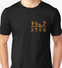 A Tribe Called Quest ATCQ Logo, Alternating Outline Unisex T-Shirt