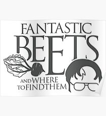Fantastic BEETS and Where to Find Them Poster