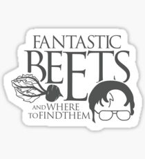 Fantastic BEETS and Where to Find Them Sticker