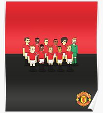 Manchester United as simpson Poster