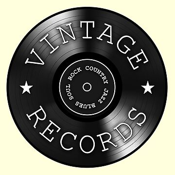 Vintage Records by vikisa