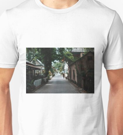 Downtown St. Augustine Alley Unisex T-Shirt