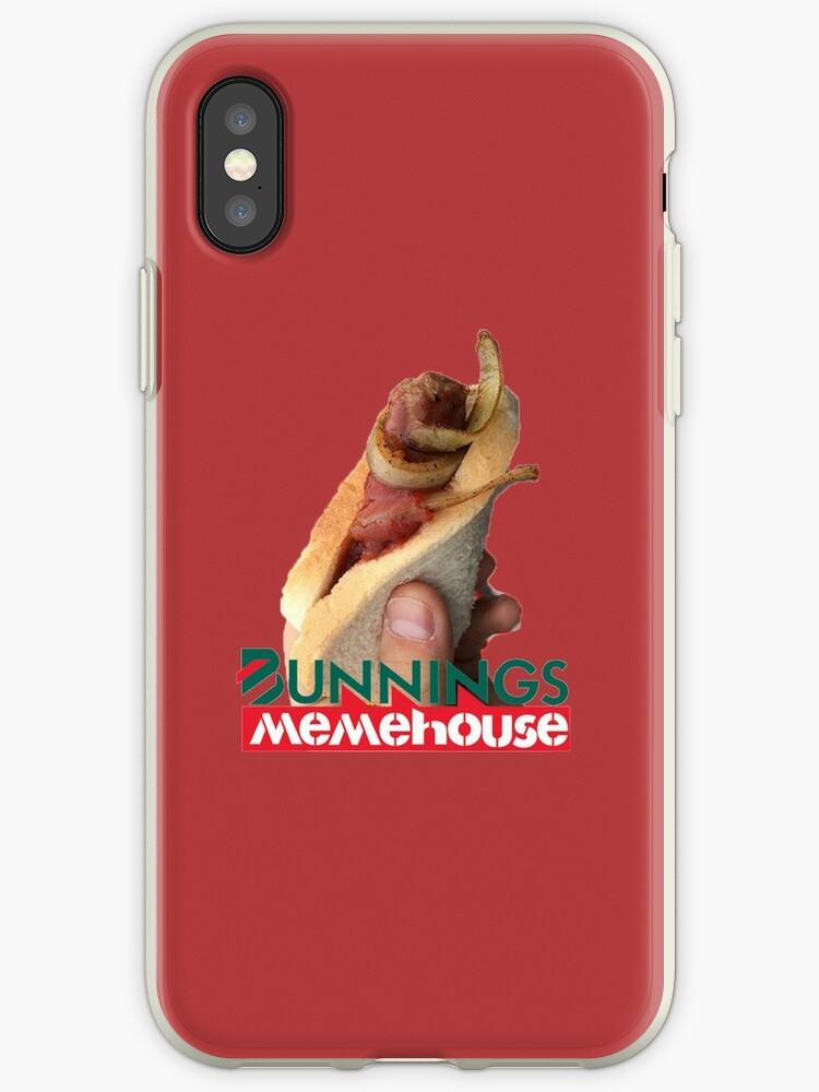 Bunnings Snags Iphone Cases Covers By Refrainitystore Redbubble