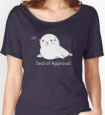 Seal Of Approval T-Shirt Women's Relaxed Fit T-Shirt