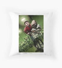 Pedal faster Elliot Throw Pillow