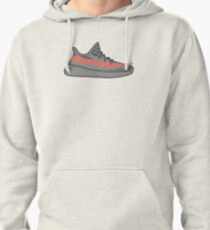 Adidas Yeezy Boost 350 V2 Beluga Minimalist  Pullover Hoodie