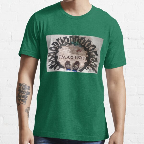 Imagine standing in Strawberry Fields Essential T-Shirt