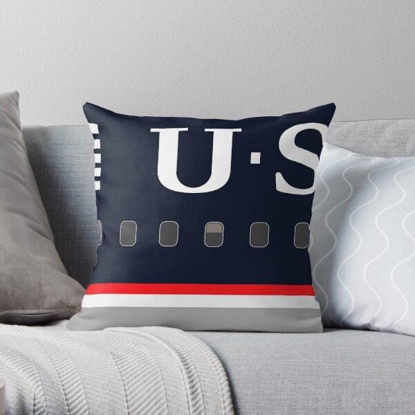 Plane Tees - US Airways Throw Pillow