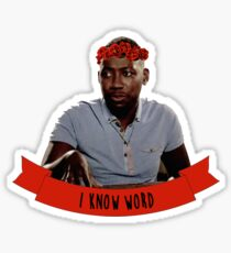 Winston | I Know Word Sticker