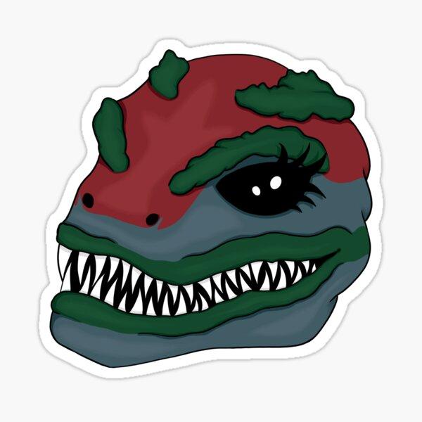 Sexy Alien Troy Sticker