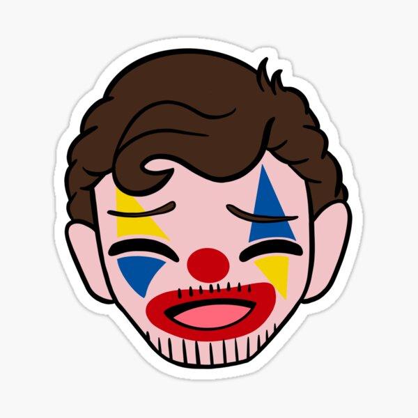 Clown Troja Sticker
