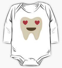 Teeth Heart and Love Eyes One Piece - Long Sleeve