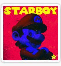 Mario - Starboy Sticker