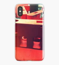 Roading Barriers iPhone Case/Skin