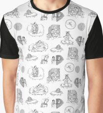 S tranger Things Toile Graphic T-Shirt