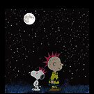 snoopy night sky by quickart