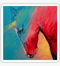 Painted Horse Sticker