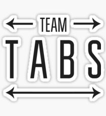 Team Tabs Sticker