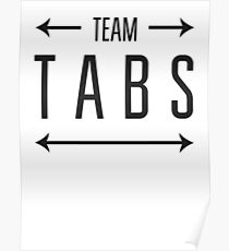 Team Tabs Poster