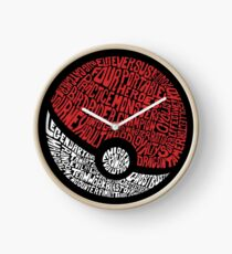 wild pokemon Clock