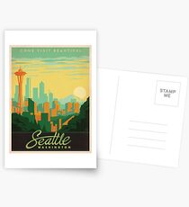 Vintage poster - Seattle Postcards
