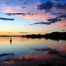 Shoalhaven Sunset by David Haworth