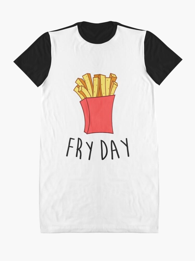 Alternative Ansicht von Frischer Tag T-Shirt Kleid