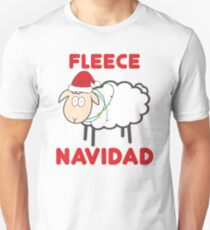 Fleece Navidad - Weihnachtshemd Slim Fit T-Shirt