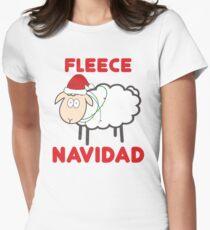 Fleece Navidad - Christmas Shirt Women's Fitted T-Shirt
