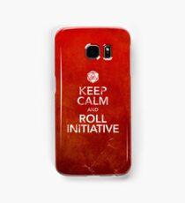 Keep Calm and Roll Initiative (Print) Samsung Galaxy Case/Skin