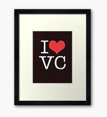 I Heart Vice City Framed Print