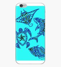 Hawaiian Sealife iPhone Case