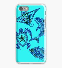 Hawaiian Sealife iPhone Case/Skin