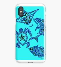 Hawaiian Sealife iPhone Case/Skin