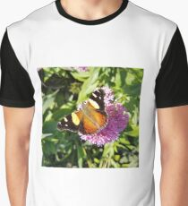 Yellow Admiral Butterfly  Graphic T-Shirt